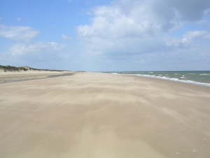 Brancaster's Sandy Beach