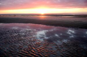 Holme Beach Sunset